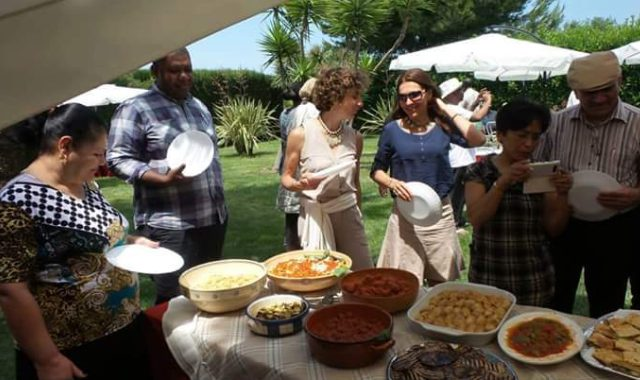 Tasting of typical local products at Masseria Monache